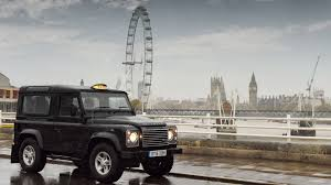 land rover defender 2016 land rover defender performs taxi duties in london video