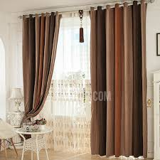 multi color thick chenille insulated and thermal blackout curtain