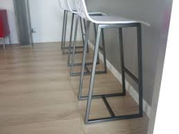 chaise haute de cuisine design chaises haute plan de travail cuisine menuiserie agencement design