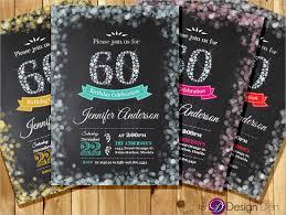 60 birthday invitations u2013 gangcraft net