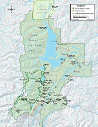 grand teton map historical buildings and structures of grand teton national park