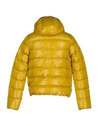 duvetica coats duvetica er yellow men coats and jackets