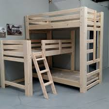 2x4 Bunk Beds Free 2x4 Bunk Bed Plans Attach The Custom Bunk Beds With