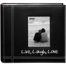 4x6 photo albums holds 500 black faux leather family photo album with embossed borders