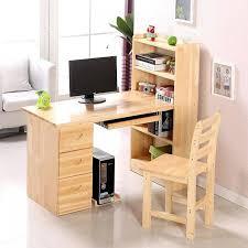Oak Corner Computer Desk With Hutch Solid Wood Student Desk With Hutch Solid Wood Corner Computer Desk
