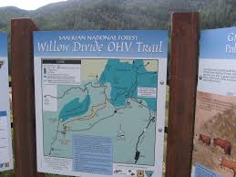 Colorado Ohv Trail Maps by Four Corners Hikes Telluride Willow Divide Trail