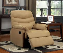 Leather Oversized Recliner Furniture Oversized Recliner With One Pull Reclining Motion Also