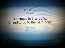 I Have To Go To The Bathroom I Need To Go To The Bathroom Spanish W Lyrics Youtube