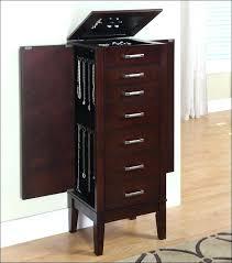 Jewelry Storage Cabinet Fashionable Jewelry Storage Cabinet Choosepeace Me