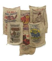 where to get burlap coffee bags on the cheap diy and crafts