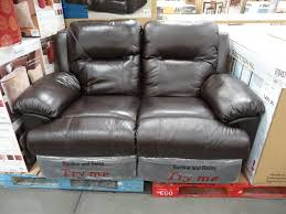 spectra mckinley leather power motion sofa with double costco