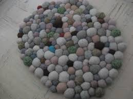 pebble rug diy faux pebble rug make out of real dollar store gems for outside