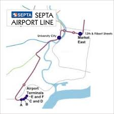 Patco Map Transportation Update U2013 Septa Airport Line Map U2013 Pope Francis In