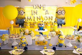 minion baby shower decorations kara s party ideas minion madness birthday party via kara s party