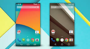 android lolipop difference between android kitkat 4 4 android lollipop 5 0