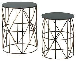gold metal side table gold round side table round gold accent table gold round coffee