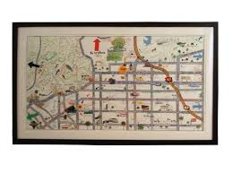 Map Home Hollywood At Home U0027star Map U0027 By Konstantin Kakanias Mid Century