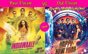 happy new years posters which happy new year poster do you like shah rukh khan and deepika