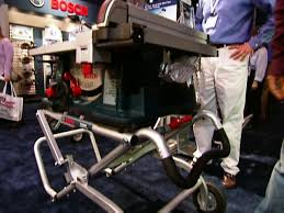 bosch gravity rise table saw stand gravity rise table saw stand video diy