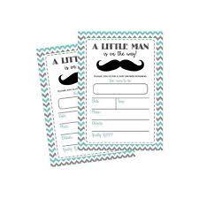 mustache baby shower invitations mustache baby shower ebay