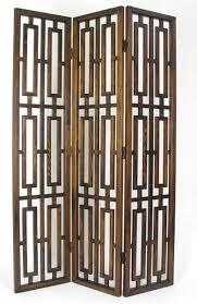 buy room divider screen light brown 72