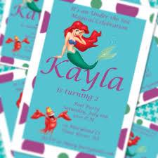 little mermaid pool party invitations little mermaid princess
