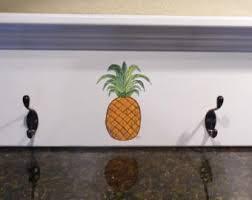 pineapple coat hook etsy