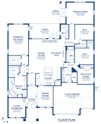 key largo a new home floor plan at union park 75 u0027s by homes by
