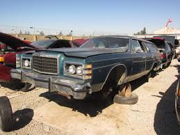 car junkyard tv show junkyard find 1975 ford ltd country squire the truth about cars