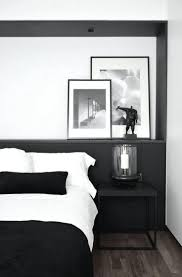 Black White Bedroom Decor Elegant Black White Bedroom Decorating Ideas Grabfor Me