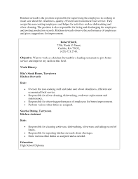 adorable kitchen helper resume sample about sample resume for
