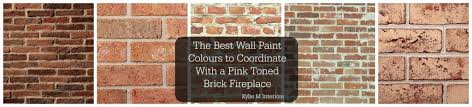 the best paint colours for walls to coordinate with a brick fireplace