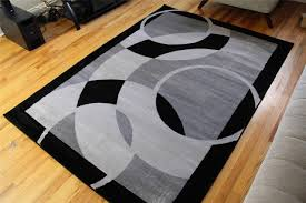 Brown And White Area Rug Home Wonderful Types Of Area Rugs Contemporary White Rug On Shag