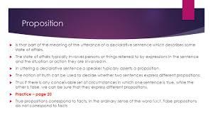 sentences utterances and propositions ppt video online download