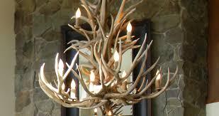 Antler Chandelier Kit Chandelier Antler Chandelier Kit Faux Deer Ceiling Fan Light