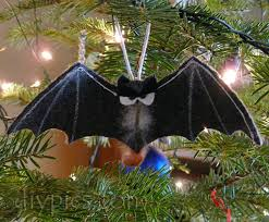 bat ornament craft diypics
