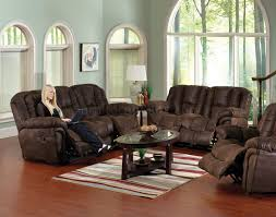 Reclining Sofas And Loveseats Chocolate Faux Leather Contour Reclining Sofa Loveseat Set