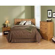 bedroom in a box sauder full queen 3 piece bedroom in a box set amber pine