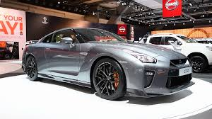 nissan spider nissan skyline gt r high tech sports car on display during the