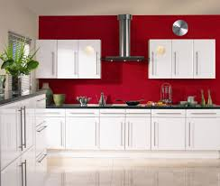 kitchen smart kitchen design with red tile backsplash idea and red