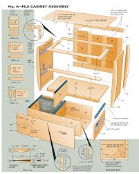 Lateral File Cabinet Plans Aw 1 3 13 4 Way File Cabinet Popular Woodworking Magazine