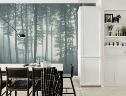 forest wall murals for a serene home decor u2013 adorable home