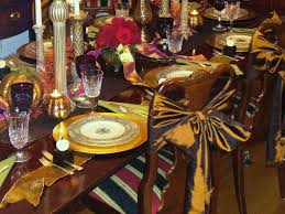 Thanksgiving Table Setting by Embassy U0027s 15 Stylish Thanksgiving Table Settings
