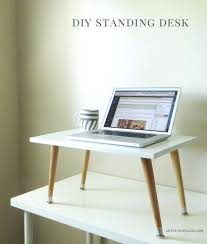 do it yourself standing desk how to build a desk do it yourself desk pin it on desktop central