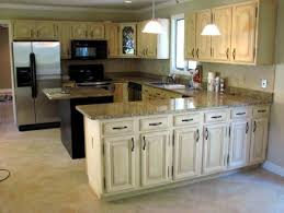modern antiquing kitchen cabinets for new residence home designs