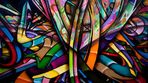 abstract colorful graffiti walls artwork painting wallpapers
