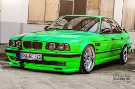 java green bmw black and green tuned bmw