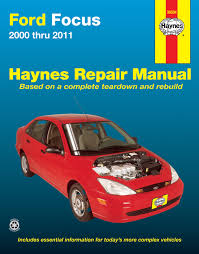 ford focus 00 11 haynes repair manual haynes manuals