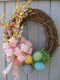 how to make an easter egg wreath creative and easy diy easter wreaths