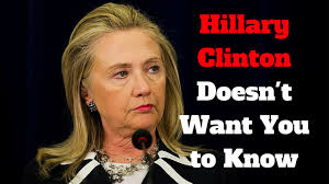 something they won t want top 10 things clinton doesn t want you to